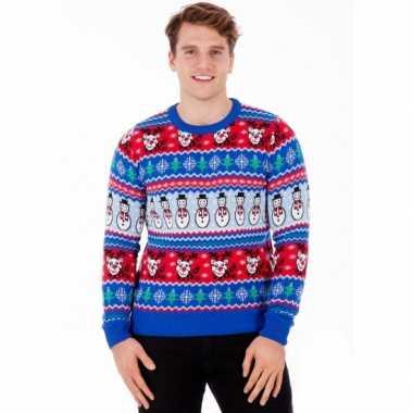 Man kerstmis trui comic christmas