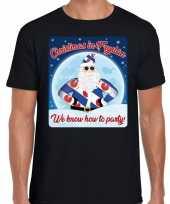 Fout friesland kerstrui christmas in fryslan zwart voor man