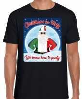 Fout italie kerstrui christmas in italy zwart voor man