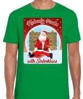 Sinterklaas kerst trui nobody fucks with sinterklaas man 10172826